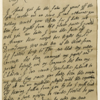 Letter by William, Earl of Annandale, to Patrick, Lord Polwarth, 17th November 1692
