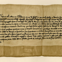 Charter by Robert Stewart, Earl of Fife and Menteith, confirming a grant to Sir John Wemyss, of the lands of Myrecairnie, &c., 18th June 1386