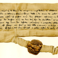 Letter of Protection by William Earl of Douglas in favour of the Monks of Melrose, 24th April 1360
