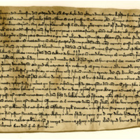 Letter from Bishop William Fraser about the death of the Maid of Norway, 7th October 1290