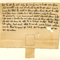 Charter by King Alexander II confirming a charter by Earl Maldouen to Absolon, 6th September 1231
