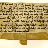 Charter by King William the Lion to Gilbert, Earl of Strathearn, of the lands of Kinveachie, c. 1180