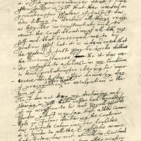 Letter by Archibald, Marquis of Argyll, to his son, 11th May 1661