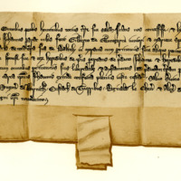 Charter by King Alexander III confirming a gift by Sir John Prat to Gilbert of Glennegerin, younger, and Marjory, his spouse, of the lands of Daltuly, 14th August 1267