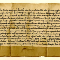 Charter by King Robert the Bruce to the Carmelite Friars near Banff, of ground for building their Church, 1st August 1324