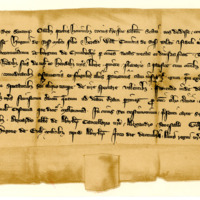 Charter by King Robert the Bruce to Sir Hugh of Ross, son and heir of William, Earl of Ross, of the sheriffdom and burgh of Cromarty, 5th December 1315
