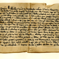 Charter by Patrick le Grant, Lord of Stratherrick, to his son-in-law, William Pylche, of the lands Kildreke and Glenbeg, 1357-1362