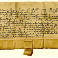 Charter by King Alexander III to Hugh of Abernethy, of the lands of Lure, 19th March 1264
