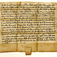 Charter by Alan Durward to Sir Gilbert of Glenkerny, of the half of Tulachfyny in Mar, c. 1256