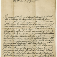Letter by Simon, Lord Lovat, to the Laird of Grant, 31st October 1735