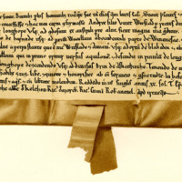 Charter by King William the Lion to Andrew, son of Vuieh, of the lands of Witslade, 1165-1171