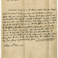 Letter by Duncan Forbes of Culloden to Major George Grant, 13th May 1741