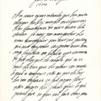 Letter by Queen Henrietta Maria to the Marquis of Argyll. Paris, 20th August 1650