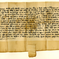 Charter by King David II to Gilbert of Glencarnie of the barony of Glencarnie, 18th January 1362