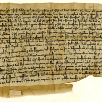 Charter by William, Bishop of St Andrews, to the Priory of Restinot, anent the lands of Rescobie, &c., 23rd April 1354