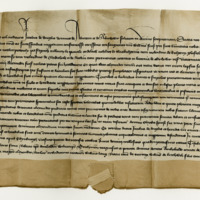 Charter by James of Douglas, Lord of Abercorn and Aberdour, to William Fraser, of the lands of Over and Nether Petouly, &c. Edinburgh, 25th October 1408