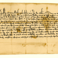 Charter by King Robert II confirming a charter by William, Earl of Ross, to Hugh Harper, of the lands of Inchfuir, 8th April 1371
