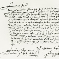 Letter from Archibald, Earl of Argyll, to the Laird of Inverquharity, 7th July 1640