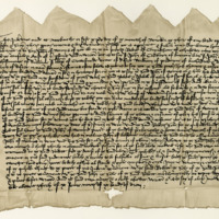 Indenture between John Wemyss of that Ilk and Robert Cunningham of Auchinbowie, about an exchange of lands, 15th November 1457