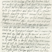Letter by Mary, Queen of Scots, to the Countess of Atholl, her aunt, 18th March 1570