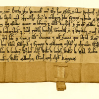 Charter by King William the Lion to Richard, son of Gregory of Melville, of land in Liberton and Leadburn, 1180-1190