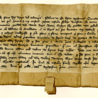 Deed by Patrick, Bishop of Brechin, recognising an annuity from Montrose to the Priory of Restinot, 1st May 1361