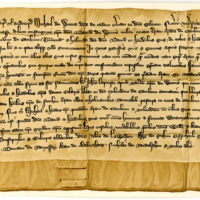 Charter by Michael Wemyss of that Ilk to David Wemyss, of the lands of Nether Cameron, c. 1332