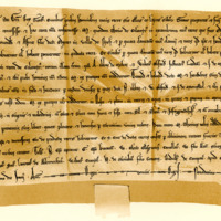 Charter by King Alexander II to M., sometime Thain of Calentyr, 30th June 1233
