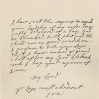 Letter by John, Lord Macleod, to George, Earl of Cromartie, 8th July 1705