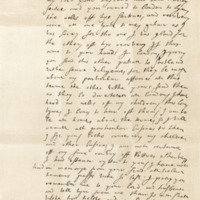 Letter by Walter, Earl of Buccleuch, to his sister, Lady Ross, 4th October 1633