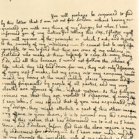 Letter by John, Lord Macleod, to his father, 18th April 1749