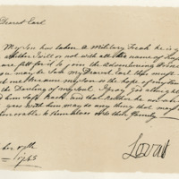 Extract of a letter by Simon, Lord Lovat, to George Borrodale, third Earl of Cromarty, 17th October 1745