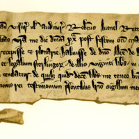 Acquittance by Robert Avenel, rector of Stamfordham, to Sir Alexander of Boncle, 15th November 1273