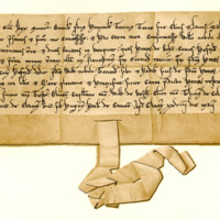 Charter by King William the Lion to William Noble, of land in Kilpont and Ilieston, c. 1200