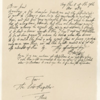 Letter by Robert Barclay of Ury to George, Viscount Tarbet, 8th July 1684