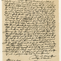Letter by Sir Roderick Mackenzie of Coigeach to Sir John Grant of Freuchie, 2nd March 1624