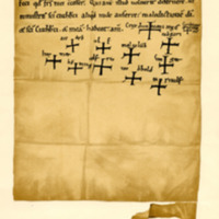 Charter by King Duncan II of Scotland to the monks of St Cuthbert of Tyninghame, c. 1094