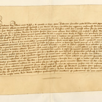 Charter by Robert, Duke of Albany, confirming charter by John of Montgomery to his son, Robert, of the lordship of Giffen, 9th March 1413