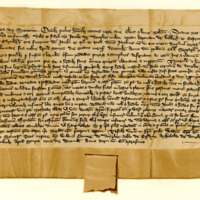 Charter by King David II to James of Douglas, knight, of the barony of Dalkeith, 9th December 1369