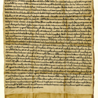 Agreement between Archibald, Bishop of Caithness, and William, Lord of Sutherland, about Skibo and other lands, 22nd September 1275