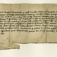 Precept by Archibald, fourth Earl of Douglas, to James de Gledstanes, for infefting John of Cranston in the lands of Sprouston. Edinburgh, 4th November 1403