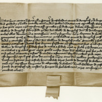 Charter by Archibald, Earl of Douglas, to William of Douglas, son of William Douglas of Drumlanrig, knight, of the barony of Hawick. Perth, 5th March 1427