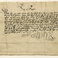 Letter by Henry Stewart and Mary, King and Queen of Scots, to John Johnstone of that Ilk. Edinburgh, 16th August 1565