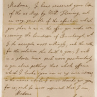 Letter by King Charles II to the Countess of Wemyss. Whitehall, 14th June 1661