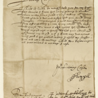 Letter from Archibald, Earl of Argyll, to James Grant of Freuchie, 29th July 1640