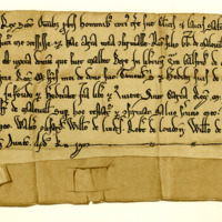 Charter by King William the Lion to Richard Melville, son of Gregory, of lands in Liberton, c.1190