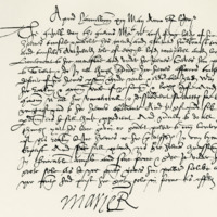 Commission by Mary, Queen of Scots, to Archibald, fifth Earl of Argyll, for her Lieutenant in Scotland. Hamilton, 13th May 1568