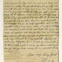 Letter by King Charles II requesting a loan of money, St Germains, 4th August 1652