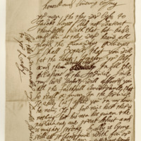 Letter from James, Marquis of Montrose, to James Grant of Freuchie. Kintore, 14th March 1645