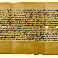 Charter by King Robert the Bruce confirming a Charter by his brother, Edward Bruce, King of Ireland, to John of Carlton, of Dalmakeran, 26th July 1324
